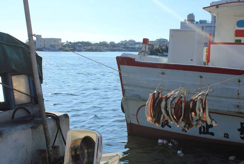 蚵仔寮漁船
