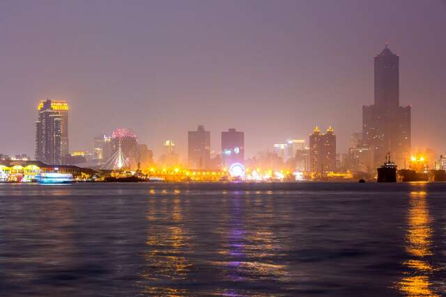 真愛碼頭夜景