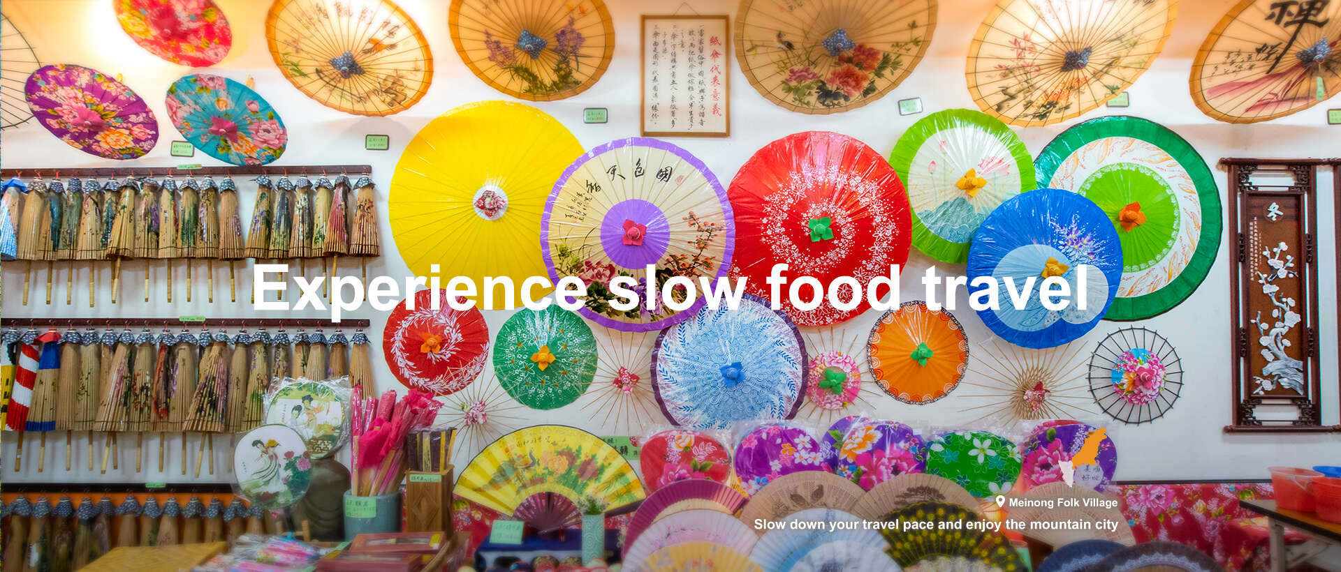 Experience slow food travel