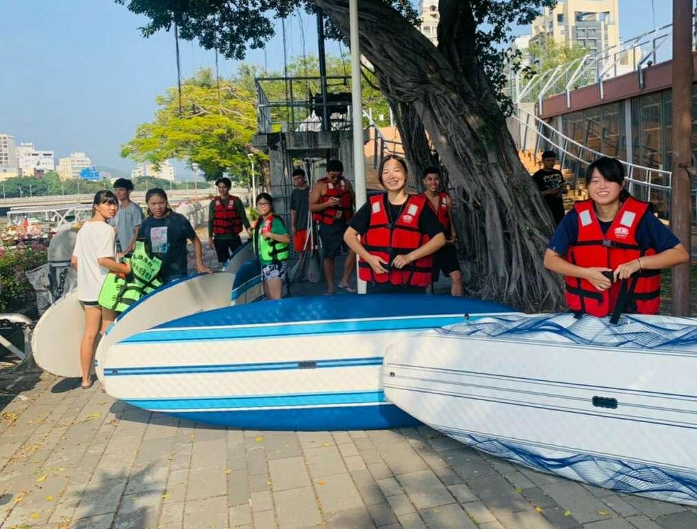 SUP與獨木舟快閃體驗活動